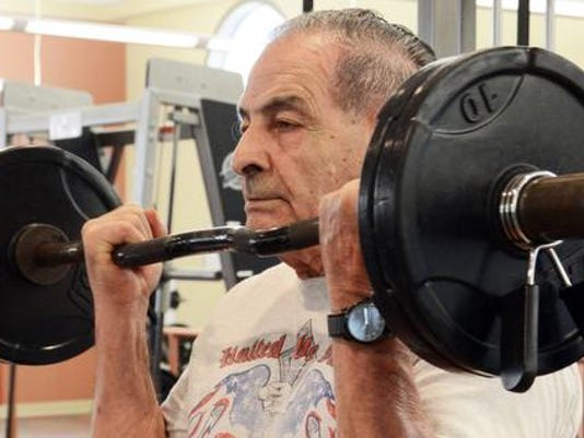 82-year-old Weightlifting Champion