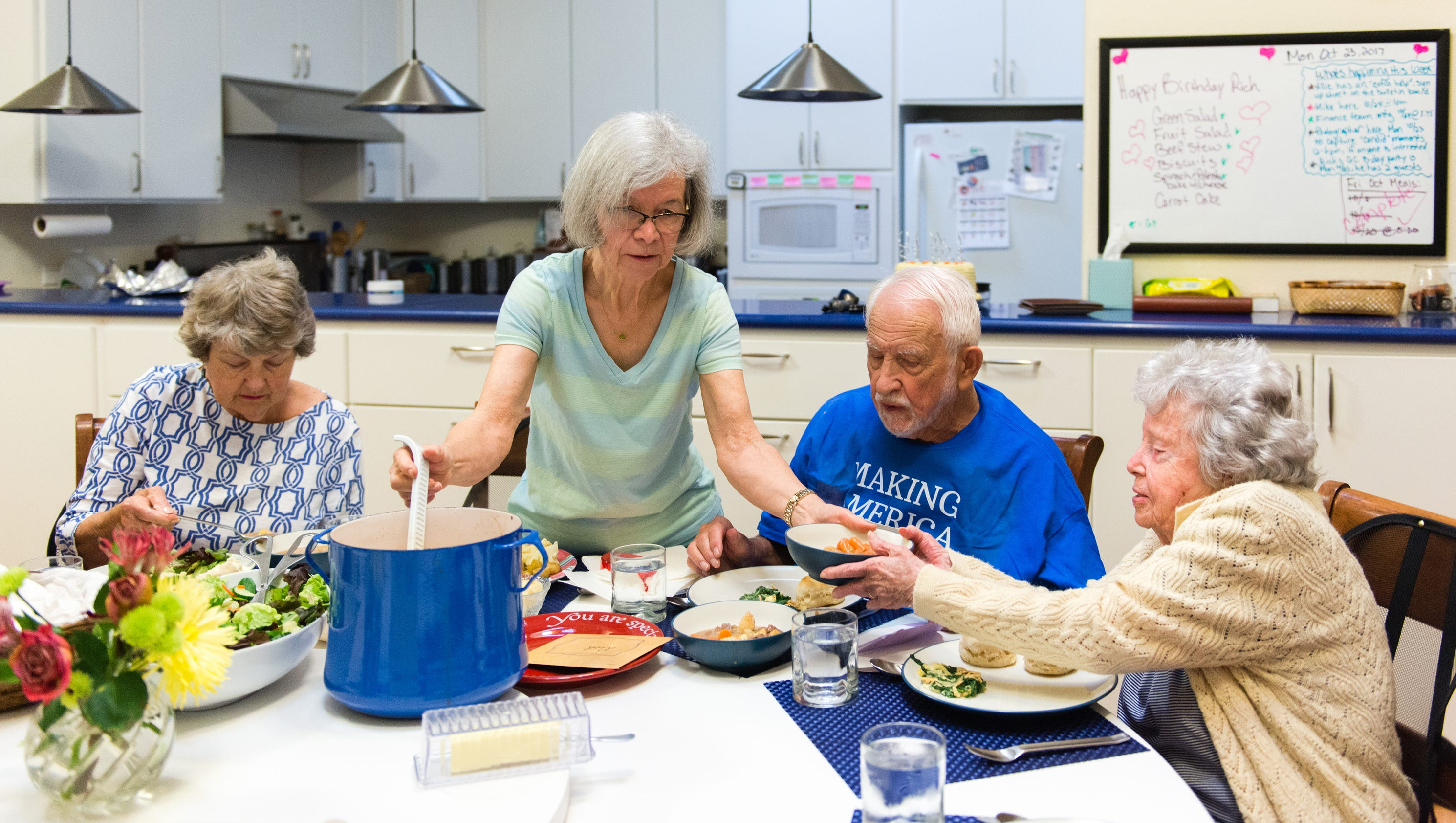 For active seniors cohousing offers a cozier alternative for Seniors house