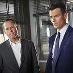 """Josh Duhamel and Dean Winters are detectives with different views on the world who team up using cynicism, guile and deception to clean up the streets of Battle Creek. The show comes from creators Vince Gilligan (""""Breaking Bad"""") and David Shore (""""House""""), producers who've pushed the envelope at times — but not here."""