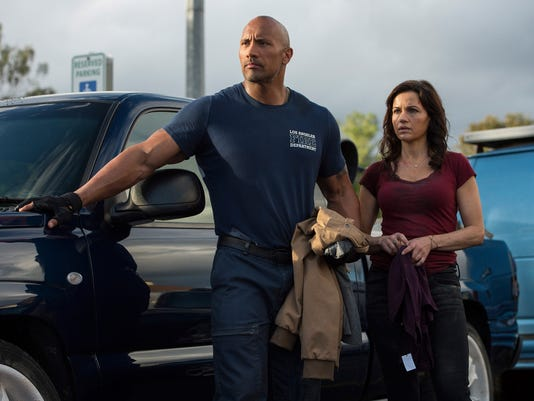 Dwayne Johnson Carla Gugino