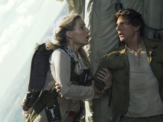 Seen here with co-star Annabelle wallis, Tom Cruise