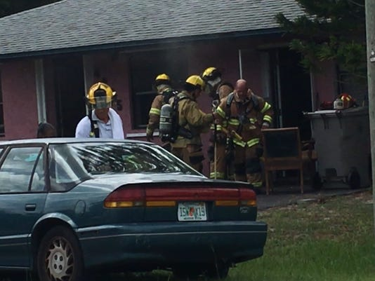 Fire damages Gifford home