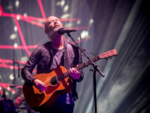 Radiohead singer Thom Yorke fought his way through