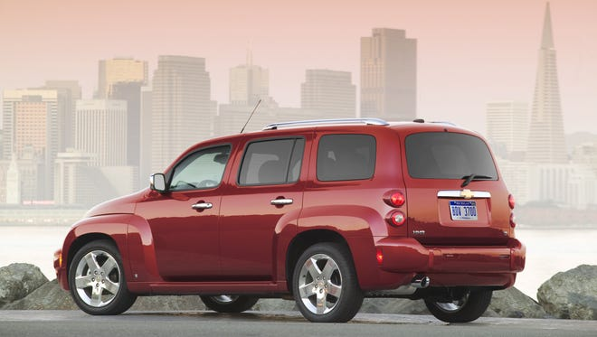 Chevrolet HHR is one the vehicles being recalled