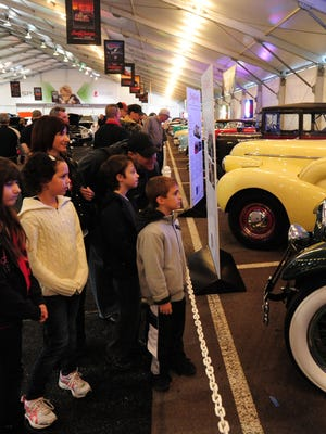 Kids 12 and younger get into the Barrett-Jackson Collector Car Auction on Saturday, Jan. 14 at Scottsdale's WestWorld.