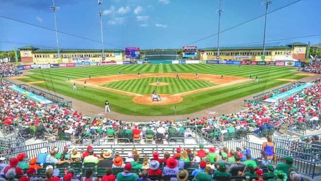 Roger Dean Chevrolet Stadium in Jupiter will sit idle this summer as the Minor League Baseball season was canceled Tuesday because of the coronavirus pandemic, meaning no games for the Palm Beach Cardinals and Jupiter Hammerheads at the stadium.