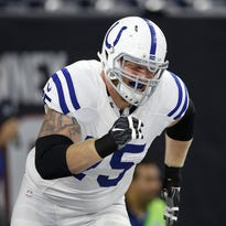 Colts giving free agent Jack Mewhort a second chance after knee injuries