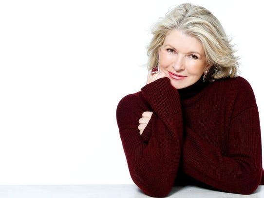 Martha Stewart will appear at the Detroit Free Press