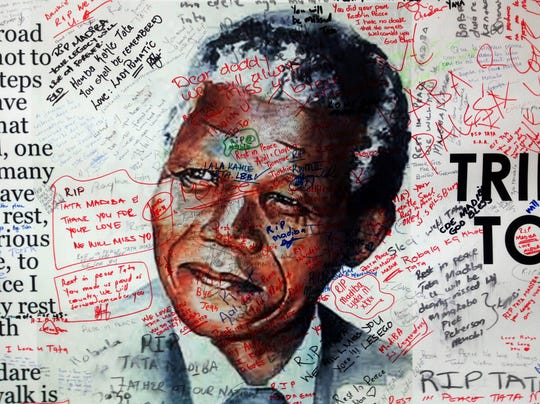 Nelson Mandela messages