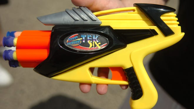 It's that time again. Nerf War time.