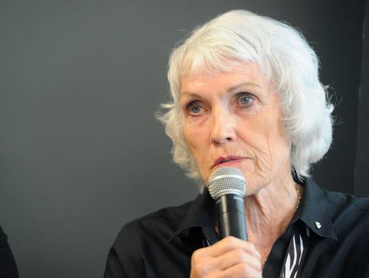 Kay Wilson-Bolton, the director of Spirit of Santa