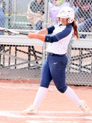 Silver's Makayla Guerra was selected to the South All-Star team as well as the All-District 3-4A squad. She batted .562 with 59 RBIs, 16 doubles, 10 triples and seven homers.