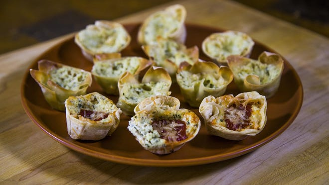 Robin Miller shows how to tweak a recipe to make one dinner work for many family members, such as these mini-lasagna cups .