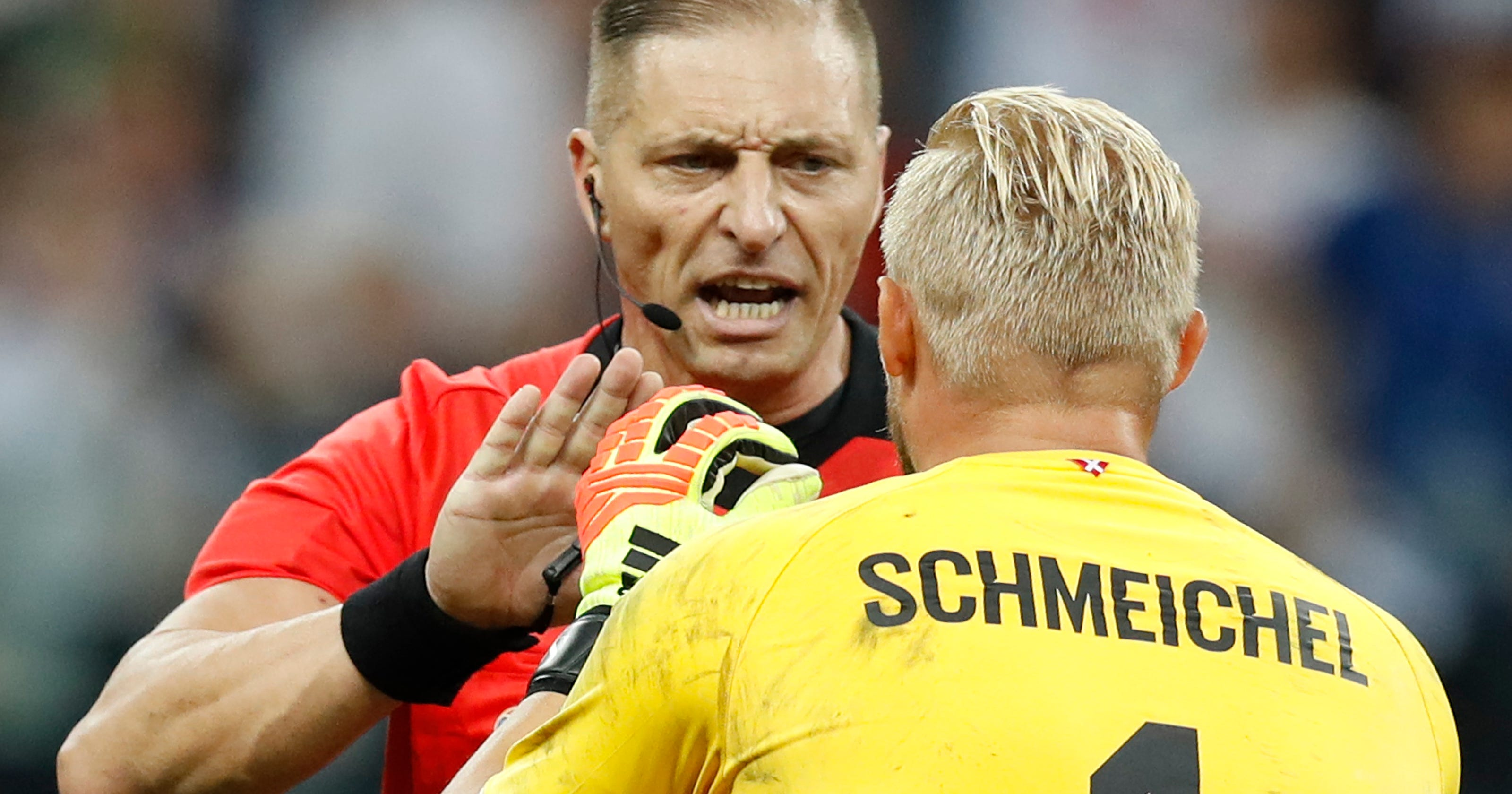 41ddc84a6 Denmark goalkeeper gets one-upped in World Cup shootout