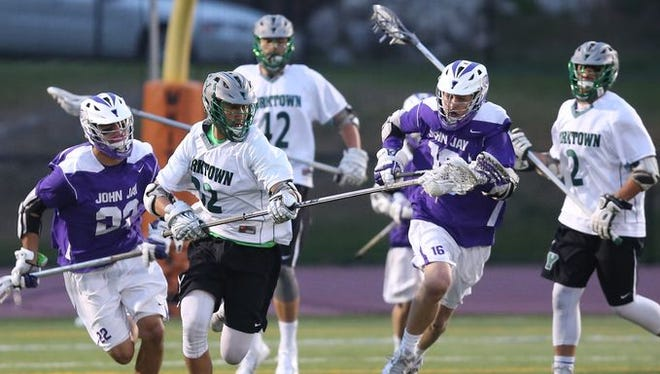 Yorktown is visiting John Jay on Thursday for a 6 p.m. game.