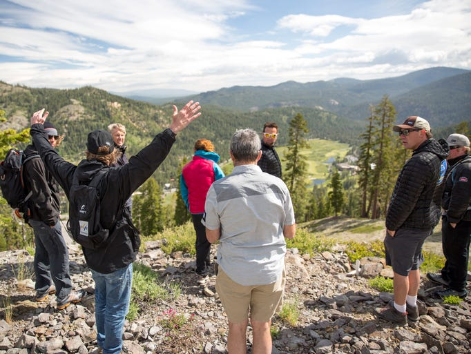 Squaw Valley hosted eight delegates from the International