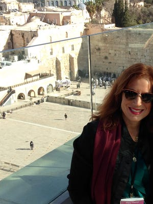 Pictured is Mary Pleeter of Montgomery Township who founded  L'Dor V'Dor of Central New Jersey, is an organization which facilitates free (except the airfare) trips to Israel for Jewish mothers.