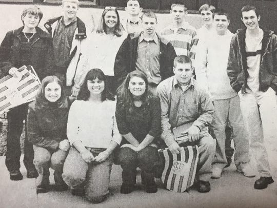 Shown here are local students who attended the American