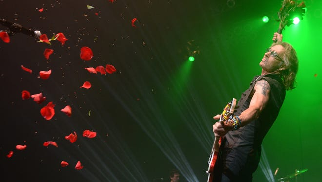 Rick Springfield performs at Hard Rock Live at the Seminole Hard Rock Hotel & Casino on Wednesday, Sept. 2, 2015, in Hollywood, Fla.