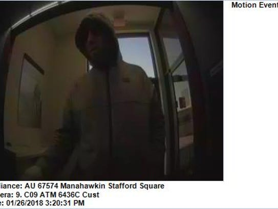 Stafford Police released this photo of a suspect in