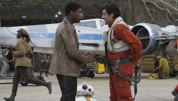 Finn and Poe — reunited and it feels so good.