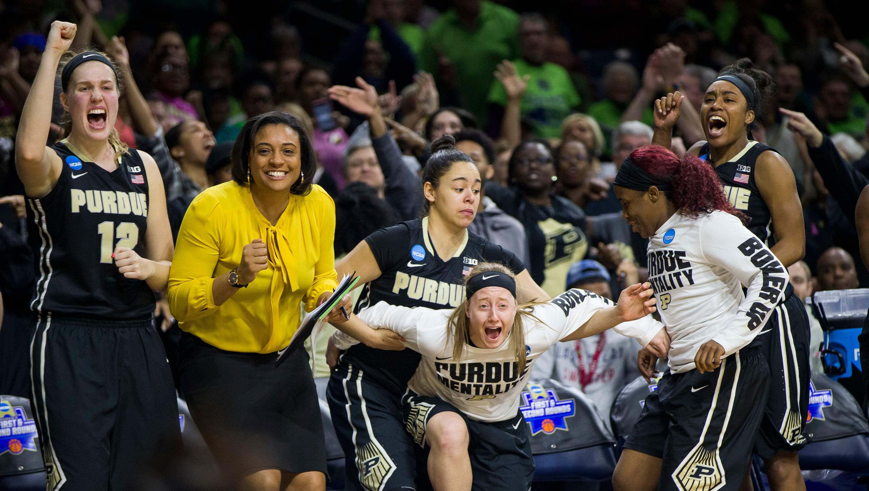 Purdue women-Notre Dame NCAA tournament