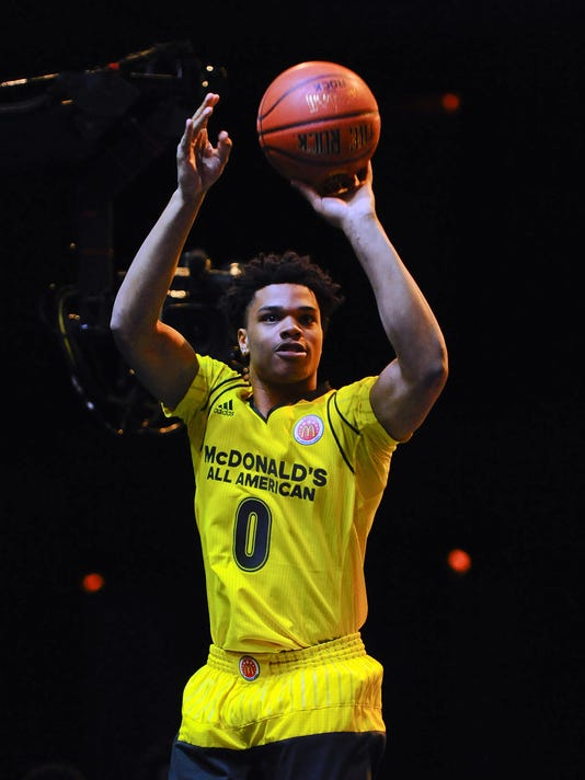 innovative design 14af7 d4f9e Michigan State fans, time to drool over this Miles Bridges dunk