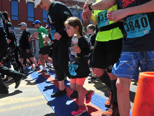 The 3-mile run at the 39th Annual Ice Breaker Road
