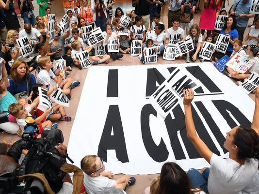 USP NEWS: FAMILIES BELONG TOGETHER COALITION MARCH A USA DC