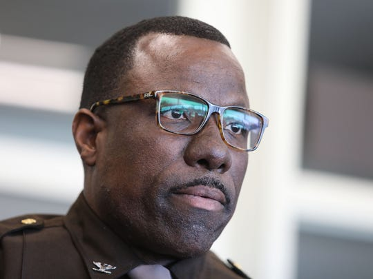 New Castle County chief of police Col. Vaughn Bond Jr. appointed Lt. Col. Quinton Watson as his second-in-command shortly after he was named chief.