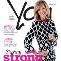 Cover of Wausau YOU Magazine for August 2015