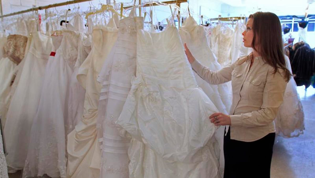 Score Your Wedding Dress For Less