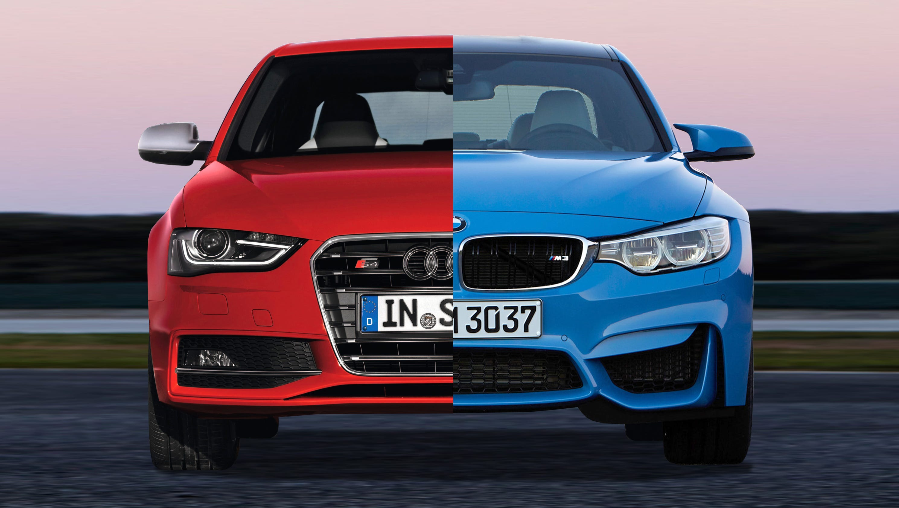 payne teutonic sedan showdown bmw m3 vs audi s4. Black Bedroom Furniture Sets. Home Design Ideas