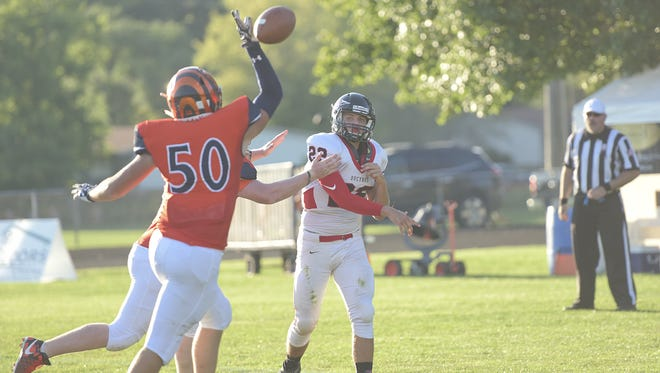 Galion will look to Karson Rinehart to be one of the defensive stalwarts this season on the line.