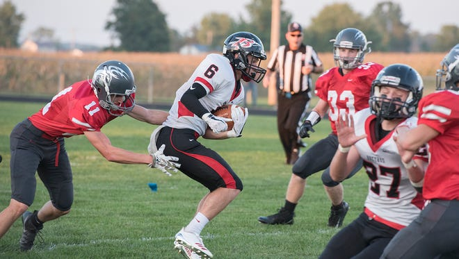 Gram Dick and the Redmen will look to utilize the offense's explosiveness against Upper Sandusky.