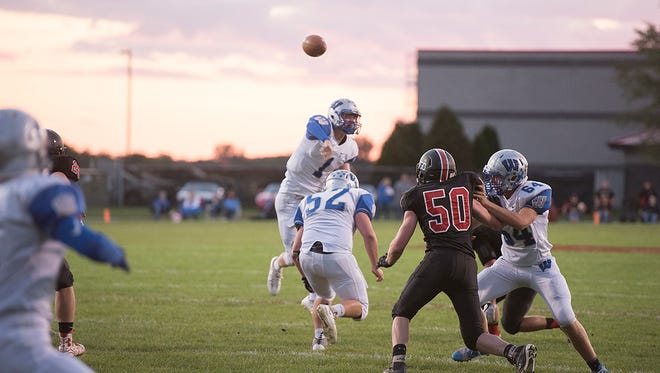 Wyatt Smith has already come up against the best defenses in the league twice this season and will look to put in a strong performance against the new best in Seneca East.