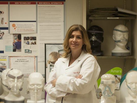 Dr. Ilene M. Rosen is a sleep expert at the Penn Sleep Center , Philadelphia.