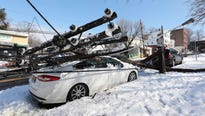 The forecast targeted a region still recovering from two nor'easters this month that cut power to millions of homes and businesses.