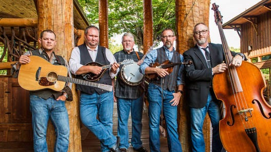 Internationally acclaimed bluegrass band Balsam Range will perform an outdoor concert at Tower Center Unity Square at 6 p.m. on Thursday, Sept. 10. Courtesy