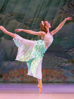 """The Mississippi Metropolitan Ballet presents """"The Little Mermaid"""" Saturday and Sunday."""