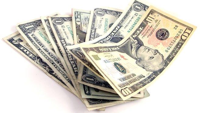 Stock photo of money