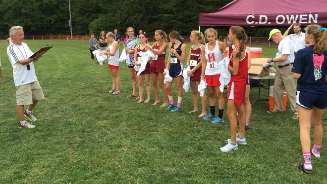 The Hyder-McMahill Invitational was held on Wednesday at Black Mountain Recreation Park.
