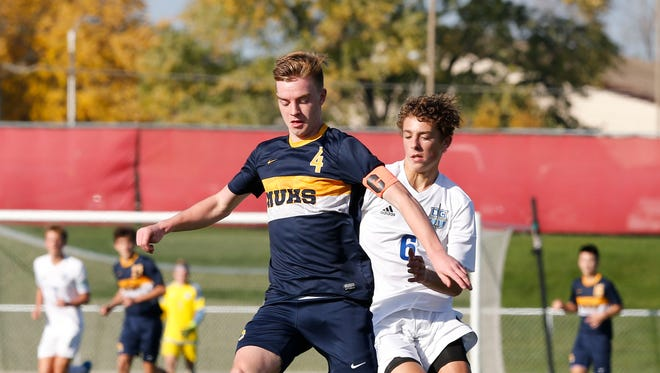 Marquette's Ben Leas is on Journal Sentinel all-area  team and was the Wisconsin Soccer Coaches Association state player of the year.