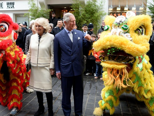 The Prince Of Wales And Duchess Of Cornwall Visit Chinatown To Mark Chinese New Year