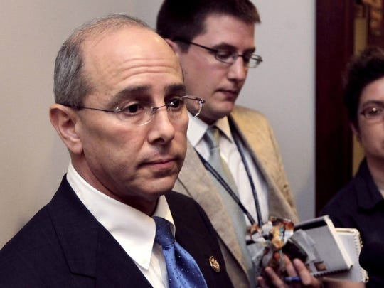 In this July 21, 2011, file photo, Rep. Charles Boustany, R-La., speaks on Capitol Hill.