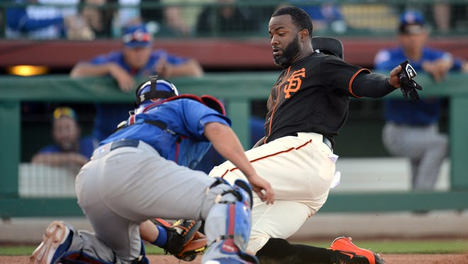 Denard Span and the San Francisco Giants may be on a collision course with Miguel Montero and the Chicago Cubs.