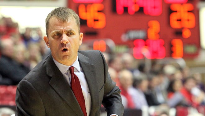 Ball State coach James Whitford went 5-25 in his first season as the Cardinals head coach.