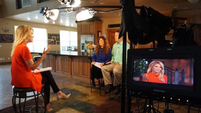 Megyn Kelly interviews Jim Bob Duggar and Michelle Duggar at their home in Tontitown, Ark.