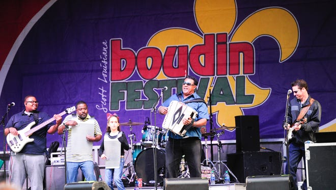 Grammy award-winning Chubby Carrier performs at the fourth annual Scott Boudin Festival features carnival rides, food and music in 2016. The festival returns April 21.