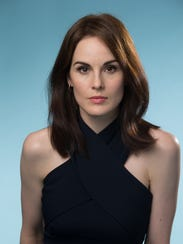 Michelle Dockery plays Lady Mary Crawley on 'Downton